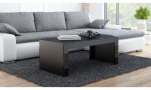 Konferenční stolek TESS černý mat/černý lesk