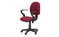 Kancelářská židle STAR vínová K10