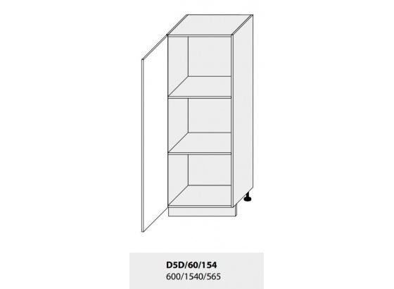 Dolní skříňka PLATINIUM D5D/60/154 grey