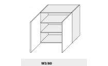 Horní skříňka PLATINIUM W3/80 grey
