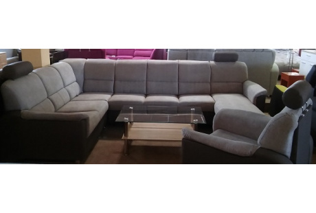 Sedací souprava DENVER Maxi Orinoco 23/Madryt 115