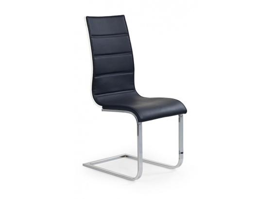Jídelní židle K 104 černá/bílá