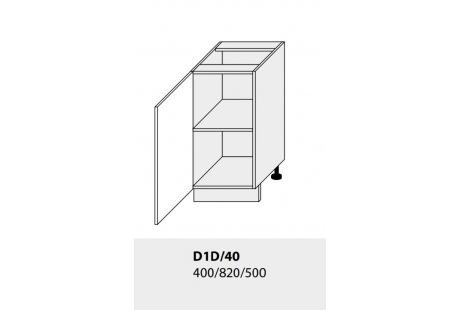 Dolní skříňka kuchyně TITANIUM D1D 40/grey