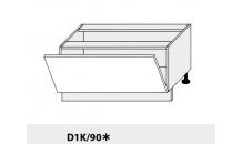 Dolní skříňka PLATINIUM D1K/90 grey