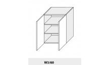 Horní skříňka PLATINIUM W3/60 jersey