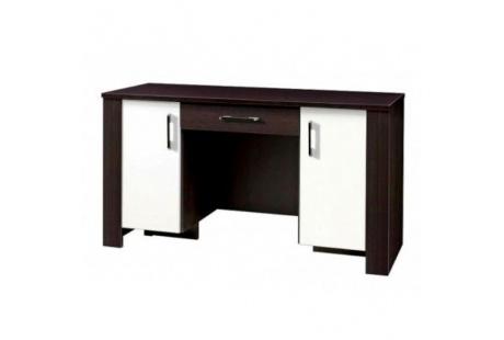 PC stůl CEZAR 17 milano/crem/šuplík