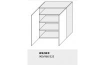 Horní skříňka kuchyně TITANIUM W4 90/grey