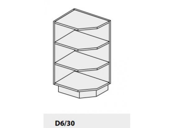 Dolní skříňka PLATINIUM D6 30 lava