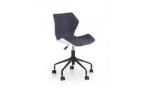 MATRIX dětská židle šedá