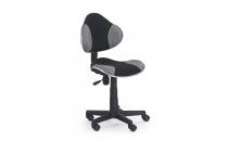 Dětská židle FLASH šedo-černá