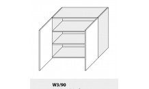Horní skříňka kuchyně QUANTUM W3 90/grey