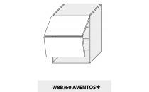 Horní skříňka PLATINIUM W8B 60 AV grey