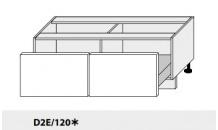 Dolní skříňka PLATINIUM D2E/120 grey