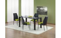 Jídelní stůl KEVIN černý lak