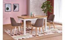 Jídelní stůl TIAGO 2 dub riviera/bílý
