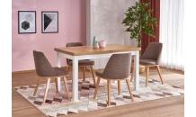 Jídelní stůl TIAGO 2 dub riviera-bílý