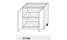 Dolní skříňka PLATINIUM D11/80 grey