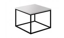 Konferenční stolek VIT PLUS 60 bílý lesk