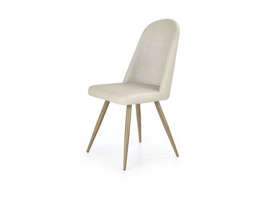 Jídelní židle K 214 tmavý krém/dub medový