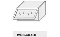 Horní skříňka kuchyně Quantum W4BS 60 ALU/jersey