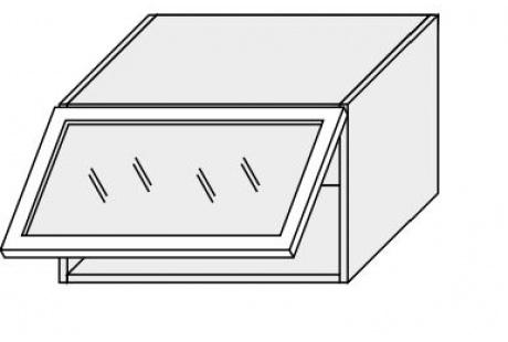 Horní skříňka kuchyně TITANIUM W4BS 60 MDF/jersey