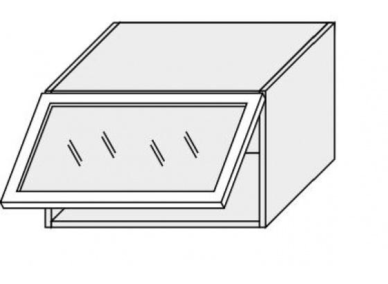 Horní skříňka kuchyně TITANIUM W4BS 60 MDF jersey