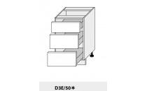 Dolní skříňka kuchyně Quantum D3E 50/grey