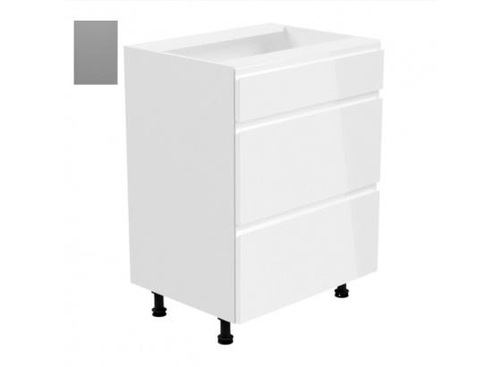 Dolní skříňka ASPEN D60S3 šedá