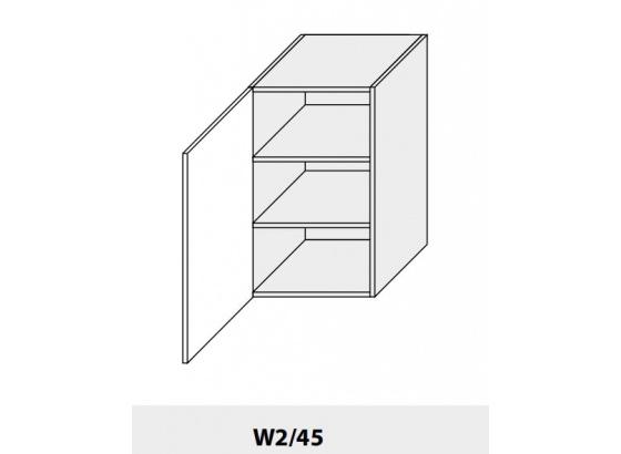 Horní skříňka PLATINIUM W2/45 grey