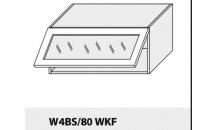 Horní skříňka kuchyně TITANIUM W4BS 80 WKF bílá