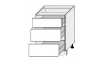 Dolní skříňka EMPORIUM D3M 60 bílá