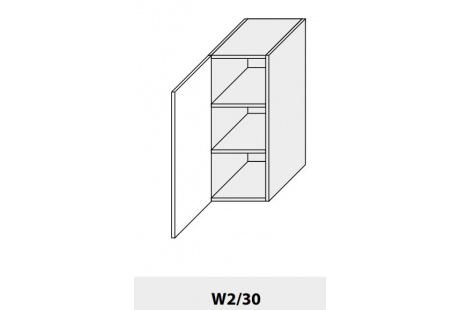 Horní skříňka PLATINIUM W2 30 grey