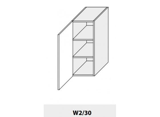 Horní skříňka PLATINIUM W2/30 grey