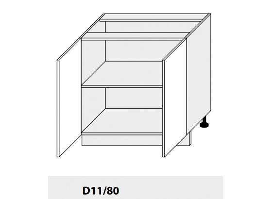 Dolní skříňka kuchyně Quantum D11 80/grey