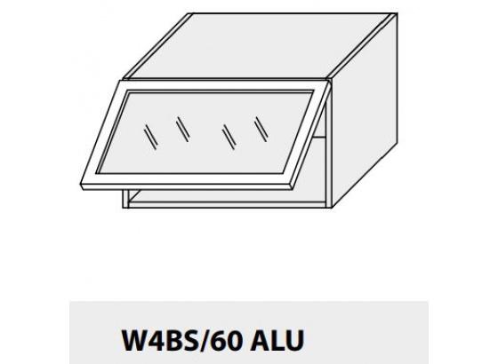 Horní skříňka kuchyně TITANIUM W4BS 60 ALU jersey