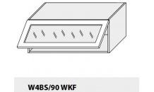 Horní skříňka kuchyně TITANIUM W4BS 90 WKF bílá