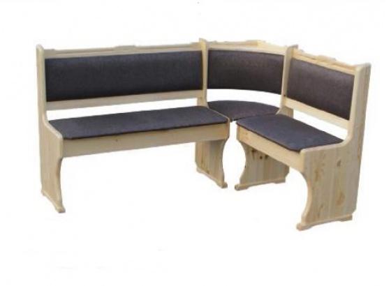 Jídelní lavice 31 masiv rohová