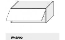 Horní skříňka kuchyně TITANIUM W4B 90/grey