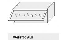 Horní skříňka kuchyně QUANTUM W4BS 90 ALU/grey