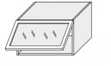 Horní skříňka kuchyně TITANIUM W4BS 60 MDF bílá