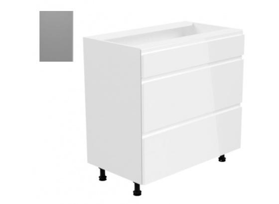 Dolní skříňka ASPEN D 80S3 šedá