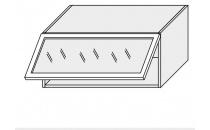Horní skříňka kuchyně QUANTUM W4BS 80 ALU/grey