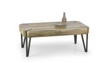 Konferenční stolek EMILY dub dziki/černá