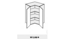 Horní skříňka PLATINIUM W12/60 bílá
