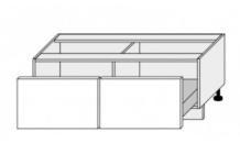 Dolní skříňka EMPORIUM D2E 120 bílá