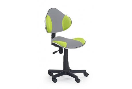 Dětská židle FLASH 2 zeleno-šedá