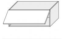 Horní skříňka kuchyně QUANTUM W4B 90/grey