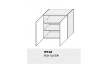 Horní skříňka kuchyně GOLD LUX W3 80