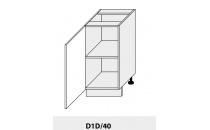 Dolní skříňka PLATINIUM D1D 40 grey