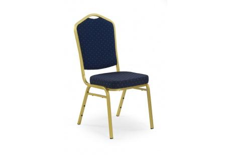 Jídelní židle K66 modro-zlatá